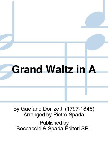 Grand Waltz in A
