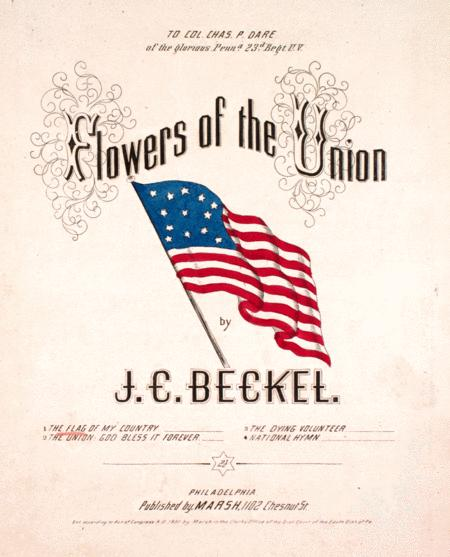 Flowers of the Union. The Flag of the Union