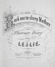 Rock Me To Sleep Mother