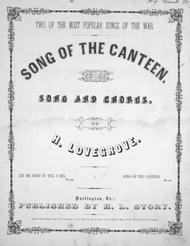 Song of the Canteen. Song and Chorus