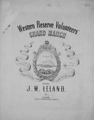 Western Reserve Volunteers' Grand March