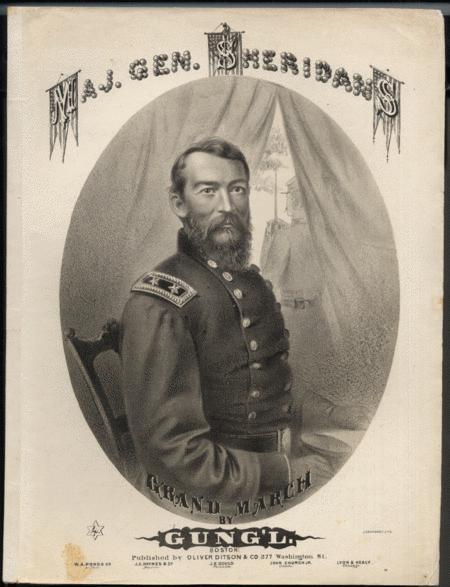Maj. Gen. Sheridan's Grand March
