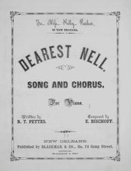 Dearest Nell. Song and Chorus. For Piano