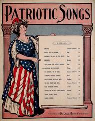 Patriotic Songs. Maryland, My Maryland