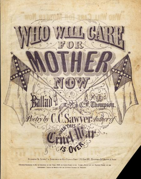 Who Will Care For Mother Now. Ballad
