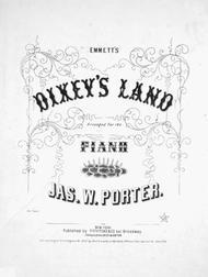 Emmett's Dixey's Land. Celebrated Walk Around