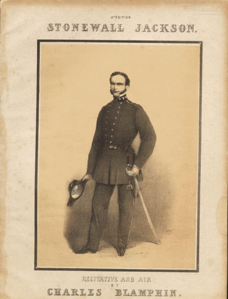 The Death of Stonewall Jackson. Recitative and Air