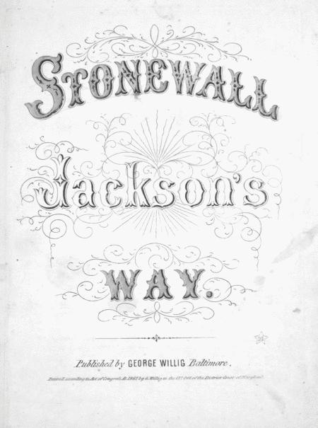 Stonewall Jackson's Way