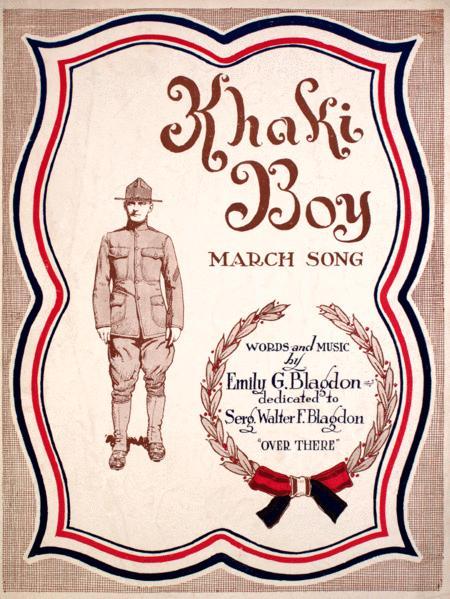 Khaki Boy. March Song