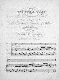 The Social Class. A Convivial Glee