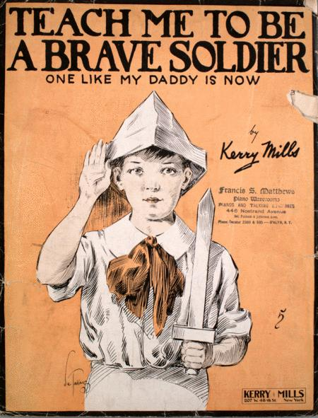 Teach Me To Be A Brave Soldier. One Like My Daddy is Now