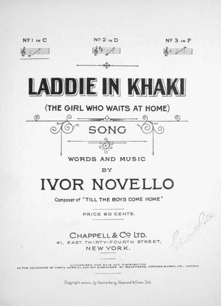 Laddie in Khaki (the Girl Who Waits at Home)
