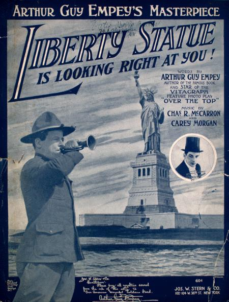 Liberty Statue is Looking Right at You