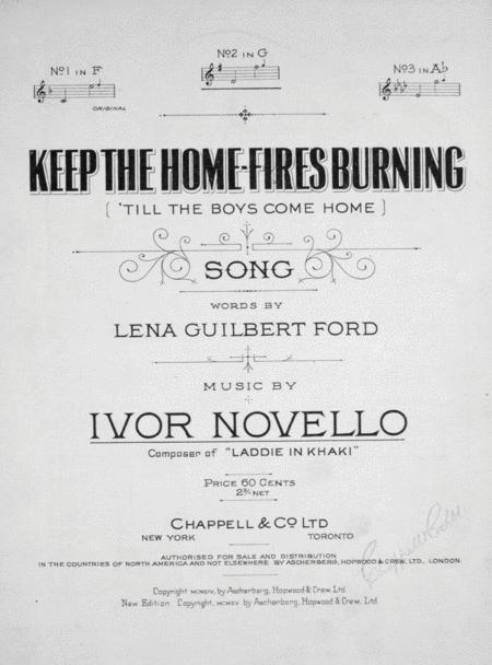 Keep the Home-Fires Burning ('Till the Boys Come Home)