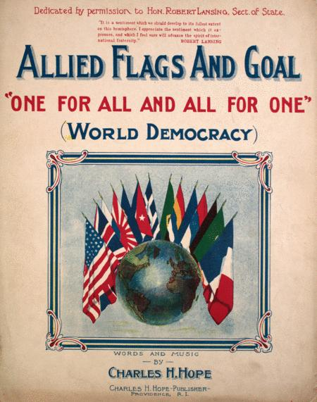 Allied Flags and Goal.
