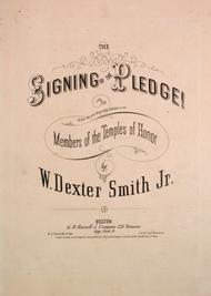 The Signing of the Pledge