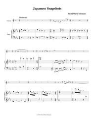 Japanese Snapshots for clarinet and piano