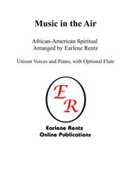Music in the Air (Unison)