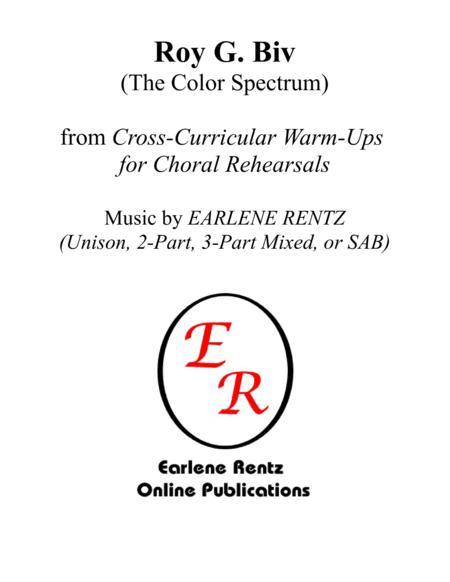 Roy G. Biv (The Color Spectrum)