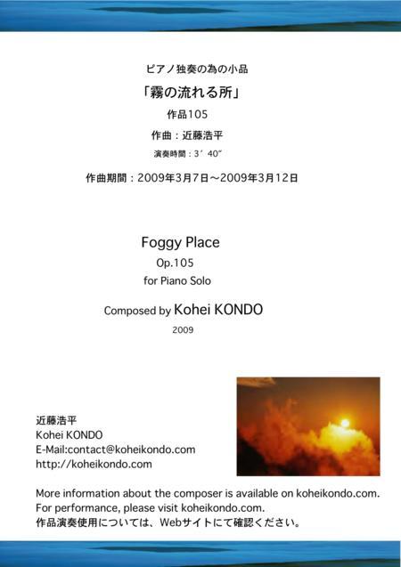Foggy Place Op.105