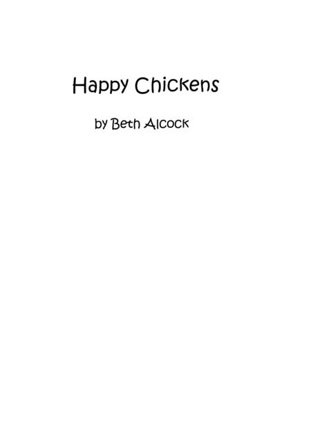 Happy Chickens by Beth Alcock
