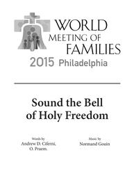 Sound the Bell of Holy Freedom (SATB/Accompaniment Hymn Only)