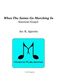 When the Saints Go Marching In - Brass Quartet