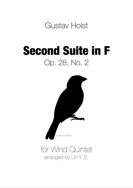 Holst - Second Suite in F for Military Band 2. Song without Words (arr. for Wind Quintet)