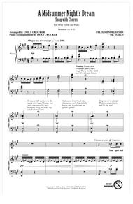 A Midsummer Night's Dream Overture, Excerpt