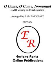 O Come, O Come, Immanuel - SATB/Full Orchestral Score