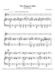The Flapper;s Ball: Oboe & Piano