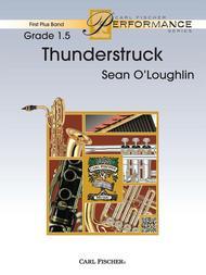 Thunderstruck Sheet Music By Sean O'Loughlin - Sheet Music Plus
