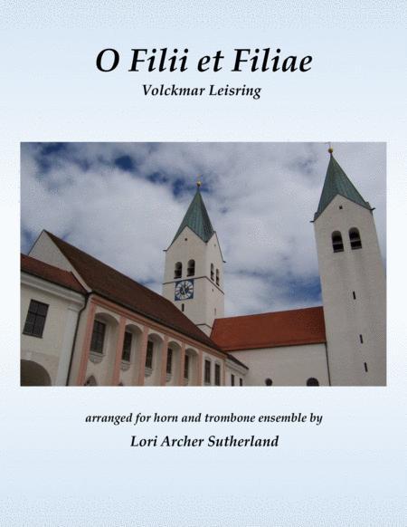 O Filii et Filiae (horn/trombone choir)