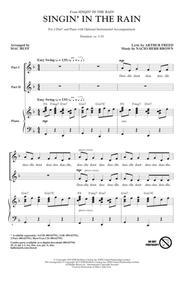 Singin' In The Rain (arr. Mac Huff)