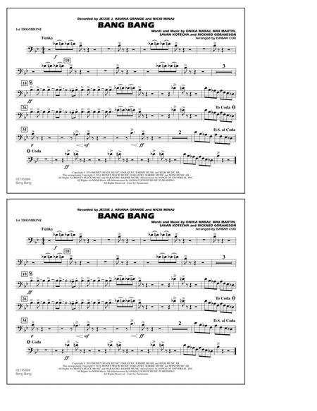Bang Bang - 1st Trombone