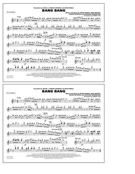 Bang Bang - Flute/Piccolo