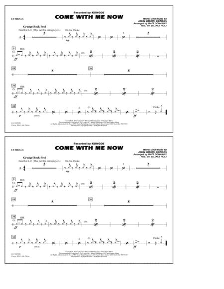 Come with Me Now - Cymbals