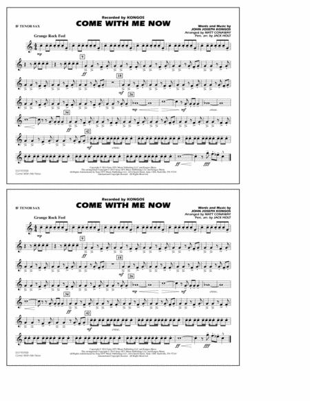 Come with Me Now - Bb Tenor Sax