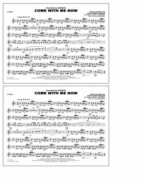 Come with Me Now - F Horn