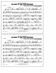 Blame It on the Boogie - Flute/Piccolo