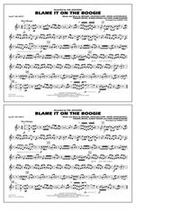 Blame It on the Boogie - 2nd Bb Trumpet