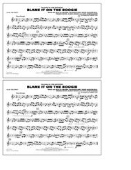 Blame It on the Boogie - 3rd Bb Trumpet