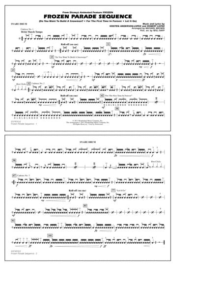 Frozen Parade Sequence - Snare Drum