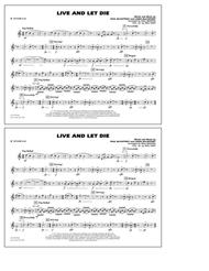 Live and Let Die - Bb Tenor Sax