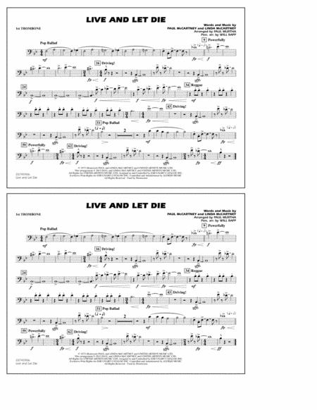 Live and Let Die - 1st Trombone