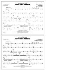 I Got the Feelin' - Aux Percussion