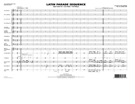 Latin Parade Sequence - Conductor Score (Full Score)