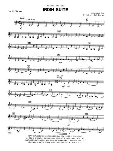 Irish Suite - 3rd Bb Clarinet