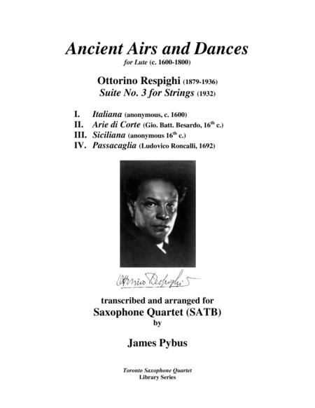 Ancient Airs and Dances Suite No. 3