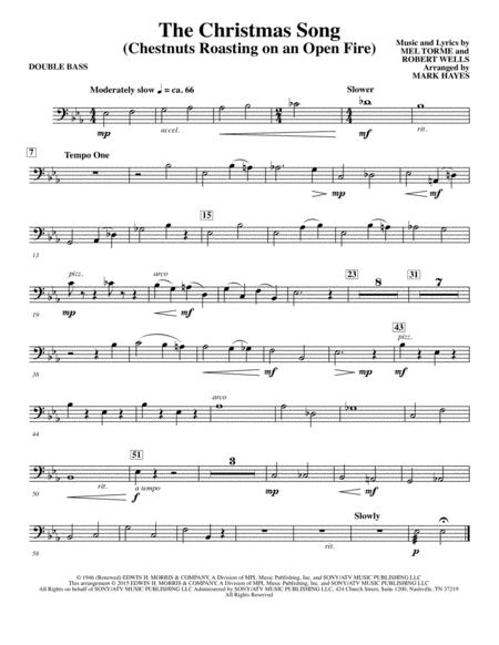The Christmas Song (Chestnuts Roasting On An Open Fire) - Double Bass